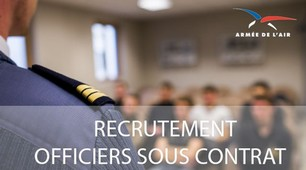 recrutements officiers armée de l'air