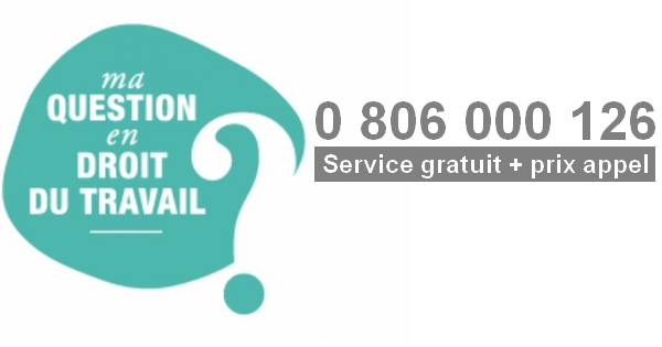 ma question en droit du travail 0 806 000 126